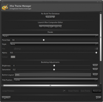 install xfce theme manager linux mint